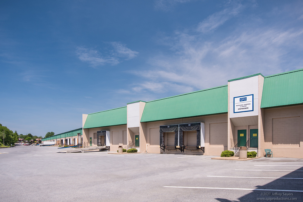 Exterior Image of Laurel Business Center by Jeffrey Sauers of Commercial Photographics, Architectural Photo Artistry in Washington DC, Virginia to Florida and PA to New England