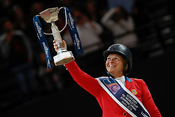 Madden Beezie, USA<br /> LONGINES FEI World Cup™ Finals Paris 2018<br /> © Dirk Caremans<br /> 15/04/18