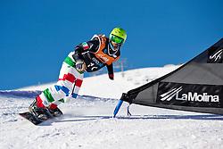 POZZERLE Manuel, Banked Slalom, 2015 IPC Snowboarding World Championships, La Molina, Spain