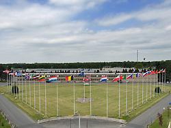 Supreme Headquarters Allied Powers Europe ( SHAPE ) headquarters in Mons, Belgium. (Photo © Jock Fistick)