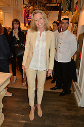 LADY MYNERS at a party to celebrate the publication of India Hicks: Island Style hosted by Princess Marie-Chantal of Greece, Saffron Aldridge and Amanda Brooks has held at Ralph Lauren, 105-109 Fulham Road, London on 28th April 2015,