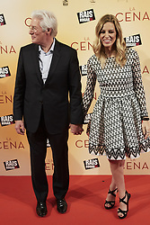 December 11, 2017 - Madrid, Madrid, Spain - Richard Gere, Alejandra Silva attended 'The Dinner' Premiere at Capitiol cinema on December 11, 2017 in Madrid (Credit Image: © Jack Abuin via ZUMA Wire)