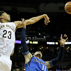 01-25-2015 Dallas Mavericks at New Orleans Pelicans
