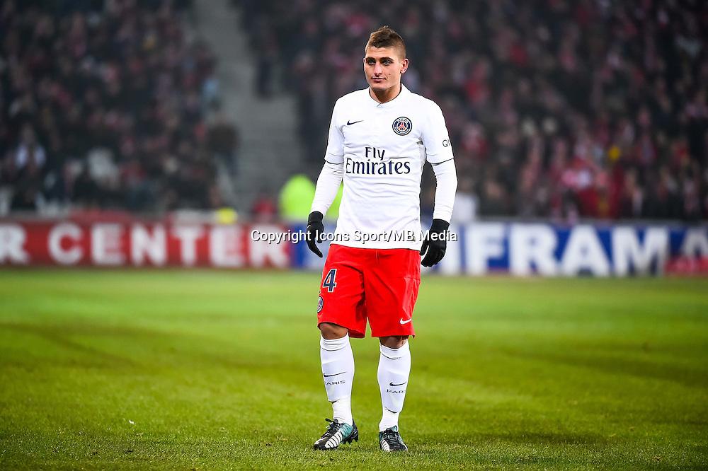 Marco VERRATTI - 03.12.2014 - Lille / Paris Saint Germain - 16eme journee de Ligue 1 -<br />Photo : Fred Porcu / Icon Sport