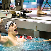 February  23, 2017:   during The Big East Swimming and Diving Championships at The Nassua Aquatic Center in East Meadow, N.Y. Mandatory Credit: Kostas Lymperopoulos