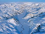 Þórsmörk séð til austurs, Krossá, Mýrdalsjökull, Rangárþing eystrra áður Vestur-Eyjafjallahreppur / Thorsmork viewing east, river Krossa and Myrdalsjokull in background, Rangarthing former Vestur-Eyjafjallahreppur.