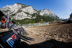 Start line during MXGP Trentino, round 5 for MXGP Championship in Pietramurata, Italy on 16th of April, 2017 in Italy. Photo by Grega Valancic / Sportida