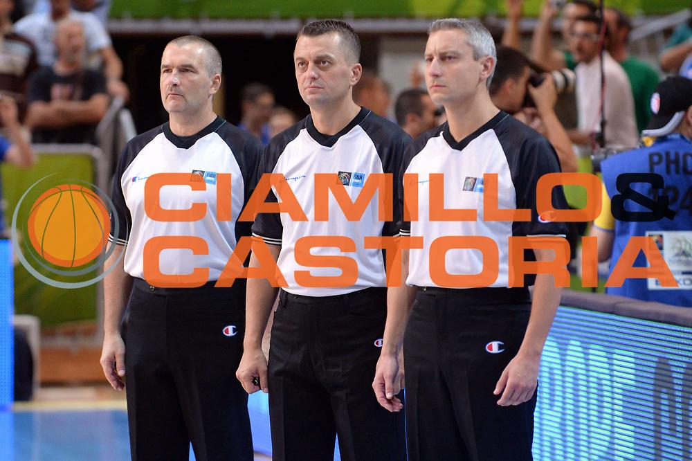 DESCRIZIONE : Capodistria Koper Slovenia Eurobasket Men 2013 Preliminary Round Turchia Italia Turkey Italy<br /> GIOCATORE : Arbitri<br /> CATEGORIA : Arbitro<br /> SQUADRA : Arbitri<br /> EVENTO : Eurobasket Men 2013<br /> GARA : Turchia Italia Turkey Italy<br /> DATA : 05/09/2013 <br /> SPORT : Pallacanestro&nbsp;<br /> AUTORE : Agenzia Ciamillo-Castoria/Max.Ceretti<br /> Galleria : Eurobasket Men 2013 <br /> Fotonotizia : Capodistria Koper Slovenia Eurobasket Men 2013 Preliminary Round Turchia Italia Turkey Italy<br /> Predefinita :