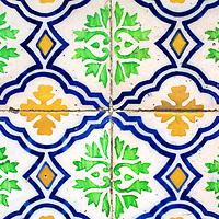 Tiles Lisbon Portugal