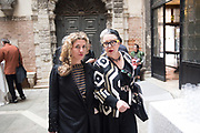 ORLAN, LINA CONDES, EXTRATERRESTRIAL ODYSSEY  with special participation by Daniel Lismore, Palazzo Pisani, Conservatorio di Musica Benedetto Marcello, near Accademia bridge, Venice Biennale,  Venice, Friday 12  May 2017
