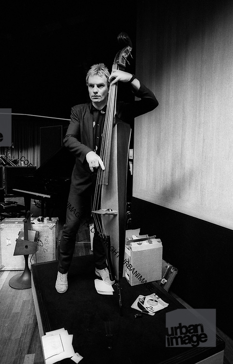 Sting - The Police - 1979  portrait With electric Bass