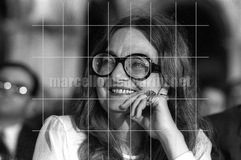 Italian poet Rossana Ombres (about 1980) / La poetessa Rossana Ombres (1980 circa) - © Marcello Mencarini