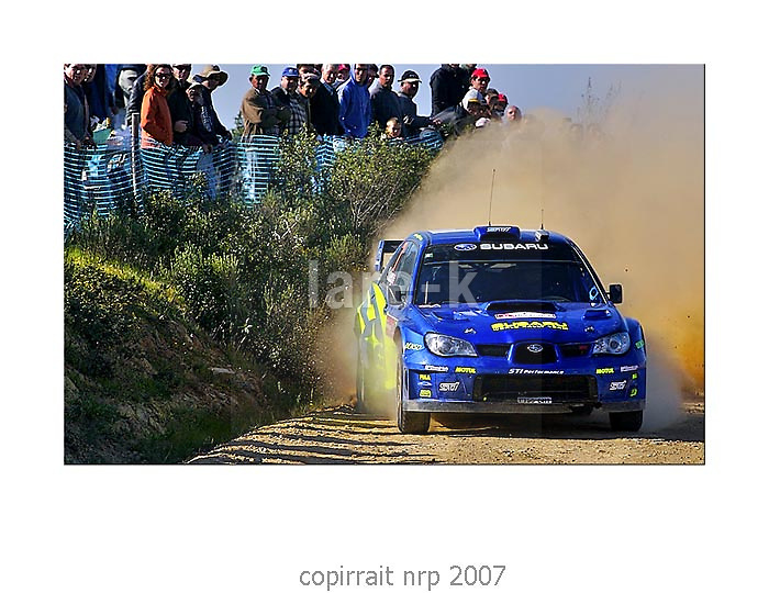 WRC PORTUGAL 2007 PETER SOLBERG<br /> SUBARU IMPREZA WRC 2006<br /> SUBARU WRT