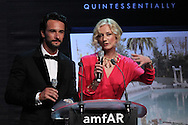 ANTIBES, FRANCE - MAY 24: Rodrigo Santoro and Joely Richardson attend amfAR's Cinema Against AIDS auction at Hotel Du Cap on May 24, 2012 in Antibes, France.  (Photo by Tony Barson/FilmMagic)