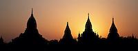Myanmar (ex Birmanie) -Province de Mandalay - Site de Pagan ou Bagan - Patrimoine mondial UNESCO // Myanmar (Burma) - Mandalay Province - Pagan or Bagan - Unesco world heritage