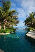 Swimming pool, Likuliku Lagoon Resort, Malolo Island, Mamanucas, Fiji