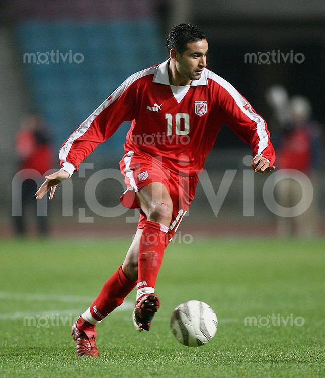 Fussball International Testspiel Tunesien - Ghana Kaies Ghodhbane (TUN) am Ball