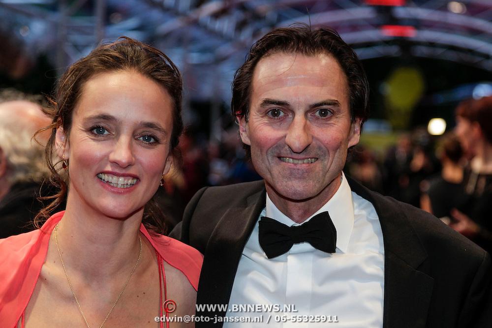 NLD/Utrecht/20121005- Gala van de Nederlandse Film 2012, René van 't Hof en ????