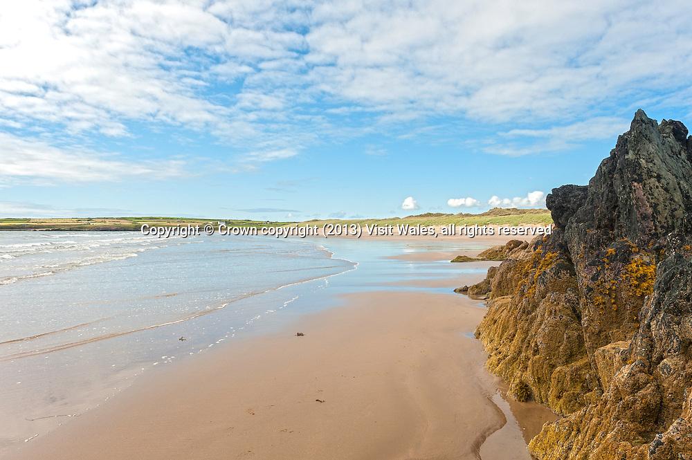 Traeth Mawr<br /> Aberffraw beach<br /> Anglesey<br /> North<br /> Coastal Scenery