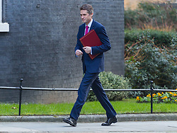 Defence Secretary Gavin Williamson arrives at 10 Downing Street in London to attend the weekly meeting of the UK cabinet - London. February 06 2018.