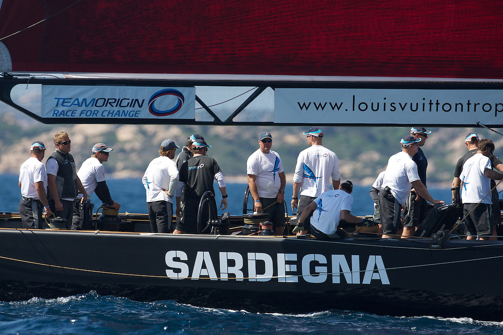 SARDINIA, La Maddalena, 24th May 2010, Louis Vuitton Trophy, TEAMORIGIN.