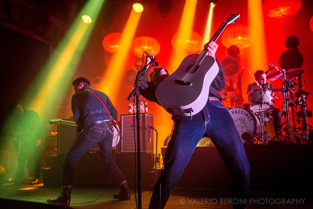 The Vaccines live at the Corn Exchange in Cambridge on 25 Nov 2015 presenting their latest album English Graffiti