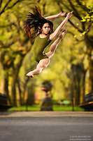Dance As Art The New York City Photography Project Central Park Mall Series with dancer Maddie Pineda