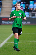 Brighton Womens defender (2) Beth Roe during the FA Women's Super League match between Manchester City Women and Brighton and Hove Albion Women at the Sport City Academy Stadium, Manchester, United Kingdom on 27 January 2019.