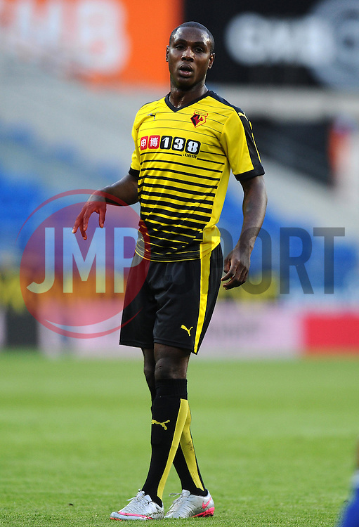 Odion Ighalo of Watford  - Mandatory by-line: Joe Meredith/JMP - 07966386802 - 28/07/2015 - SPORT - FOOTBALL - Cardiff,Wales - Cardiff City Stadium - Cardiff City v Watford - Pre-Season Friendly