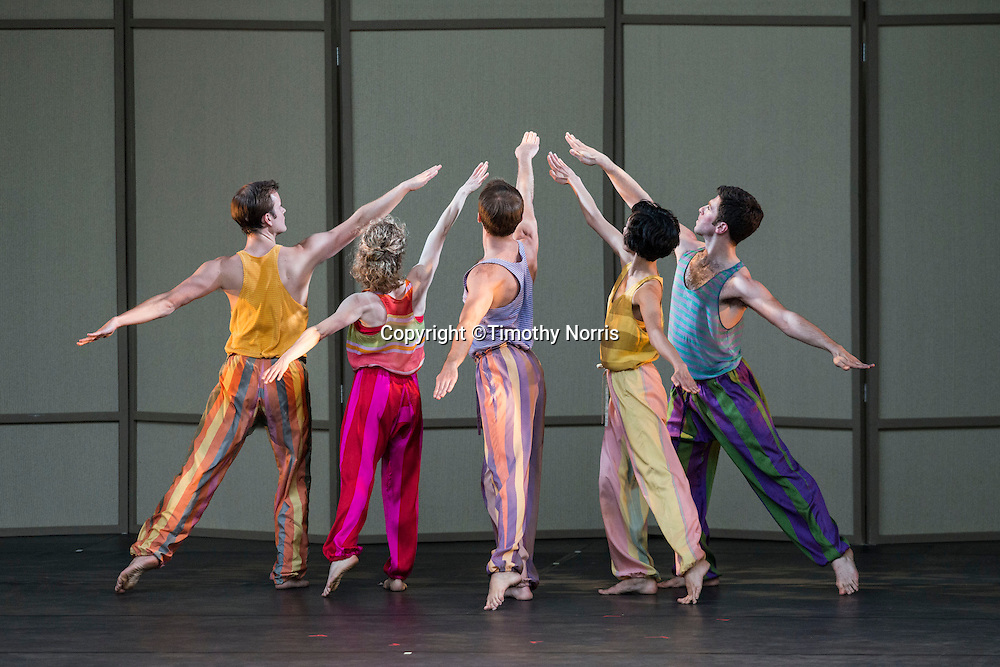 "Mark Morris Dance Group perfoms ""Mosaic and United"" at Libbey Bowl on June 7, 2013 in Ojai, California."