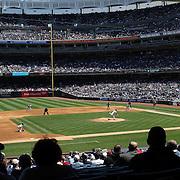 A scene inside Yankee Stadium during the New York Yankees V Oakland Athletic, American League baseball game at Yankee Stadium. The Bronx, New York USA. 4th May 2013. Photo Tim Clayton