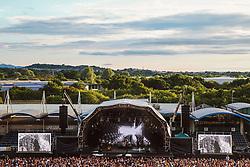 A general view as Bryan Adams plays to a full crowd at the Sixways Stadium - Mandatory by-line: Matt McNulty/JMP - 14/07/2017 - Sixways Stadium - Worcester, England
