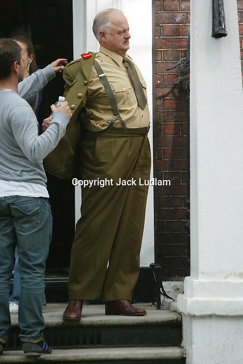 Brendan Gleeson as Winston Churchill in the movie 〝Into The Storm〞2009