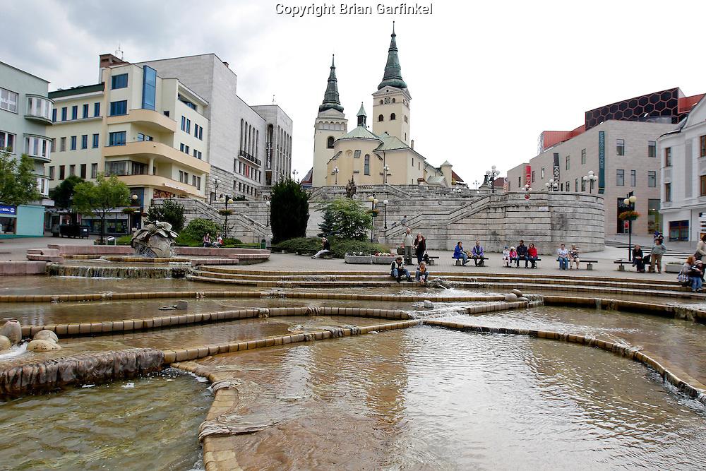 Zilina, Slovakia on Saturday July 2nd 2011. (Photo by Brian Garfinkel)