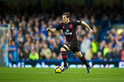 LONDON, ENGLAND - Saturday, December 12, 2009: Everton's Leighton Baines in action against Chelsea during the Premiership match at Stamford Bridge. (Photo by David Rawcliffe/Propaganda)