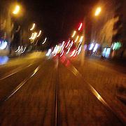 Zizkov. #prag #praha #prague #czechrepublic #night #tram #publictransport #public #tram #lights #tschechien #zizkov