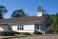 Bolinas Schoolhouse, Bolinas, Marin County, California