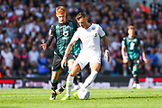 Leeds United defender Ben White (5) during the EFL Sky Bet Championship match between Leeds United and Swansea City at Elland Road, Leeds, England on 31 August 2019.