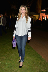 LILY JAMES at the Battersea Power Station Annual Party at Battersea Power Station, 188 Kirtling Street, London SW8 on 30th April 2014.