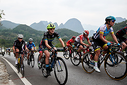 Leah Dixon (GBR) at GREE Tour of Guangxi Women's WorldTour 2019 a 145.8 km road race in Guilin, China on October 22, 2019. Photo by Sean Robinson/velofocus.com