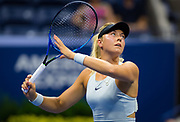 Carina Witthoeft of Germany in action during her second-round match at the 2018 US Open Grand Slam tennis tournament, at Billie Jean King National Tennis Center in Flushing Meadow, New York, USA, August 29th 2018, Photo Rob Prange / SpainProSportsImages / DPPI / ProSportsImages / DPPI