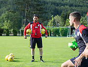 Dundee manager Paul Hartley -  Dundee FC pre-season training camp in Obertraun, Austria<br /> <br />  - &copy; David Young - www.davidyoungphoto.co.uk - email: davidyoungphoto@gmail.com