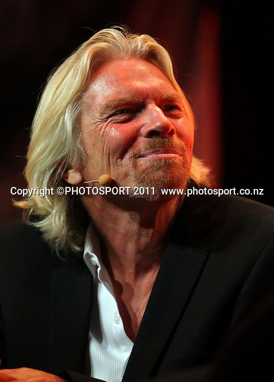 Duco Event, Sir Richard Branson Live in Auckland, Viaduct Events Centre,  Auckland, New Zealand. Thursday 20 October 2011. Photo: Simon Watts / photosport.co.nz