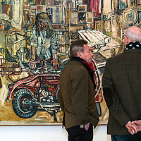 John Bratby at the Jerwood