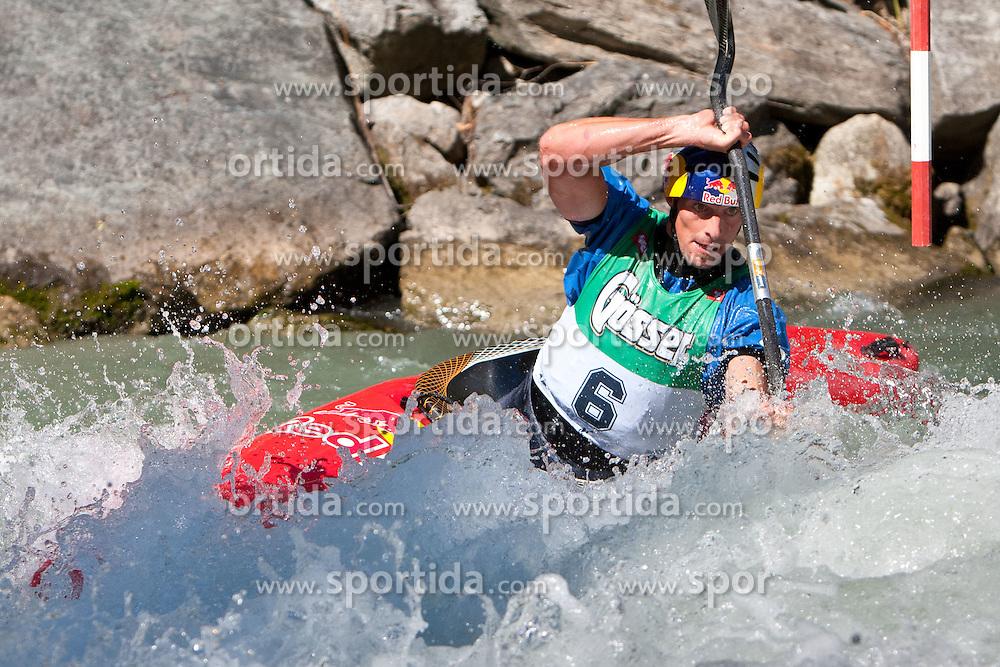11.09.2010, Lienz, AUT, Redbull Dolomitenmann 2010, im Bild Kanute Harald Hudetz, AUT, Team Red Bull Team. EXPA Pictures © 2010, PhotoCredit: EXPA/ J. Groder