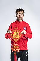 **EXCLUSIVE**Portrait of Chinese soccer player Liu Yu of Chongqing Dangdai Lifan F.C. SWM Team for the 2018 Chinese Football Association Super League, in Chongqing, China, 27 February 2018.