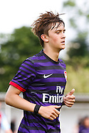 Picture by David Horn/Focus Images Ltd. 07545 970036.04/08/12.Josh Rees of Arsenal during a friendly match at The Meadow, Chesham.