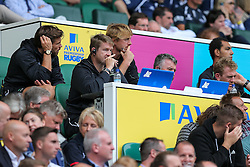 Worcester Warriors Head Coach Carl Hogg looks frustrated - Rogan Thomson/JMP - 03/09/2016 - RUGBY UNION - Twickenham Stadium - London, England - Saracens v Worcester Warriors - Aviva Premiership London Double Header.