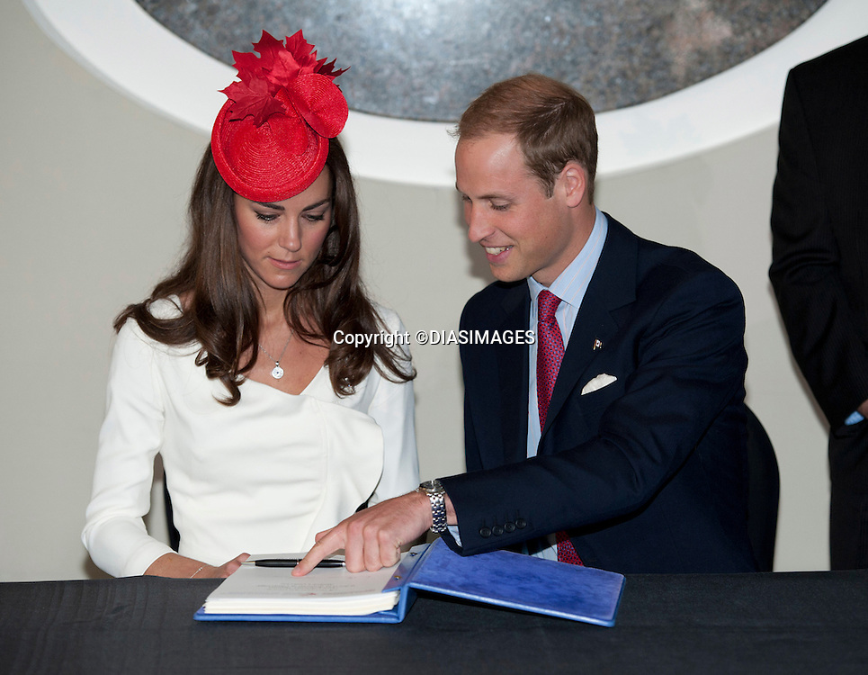 "WILLIAM & KATE ATTEND A CITIZENSHIP CEREMONY ON CANADA DAY.Canadian Museum of  Civilization, Ottawa_01/07/2011.Mandatory Credit Photo: ©DIASIMAGES..**ALL FEES PAYABLE TO: ""NEWSPIX INTERNATIONAL""**..No UK sales until 28/07/2011.IMMEDIATE CONFIRMATION OF USAGE REQUIRED:.DiasImages, 31a Chinnery Hill, Bishop's Stortford, ENGLAND CM23 3PS.Tel:+441279 324672  ; Fax: +441279656877.Mobile:  07775681153.e-mail: info@newspixinternational.co.uk"