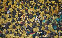 Photo: Steve Bond/Richard Lane Photography.<br />Mali v Benin. Africa Cup of Nations. 21/01/2008. Massed Benin fans